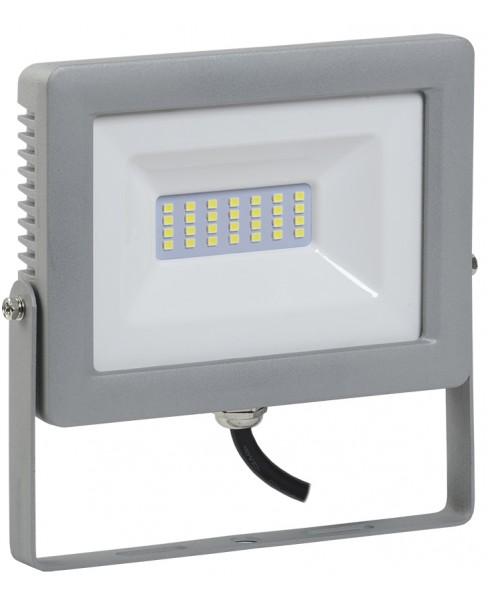 Прожектор СДО 07-30 светодиодный серый IP65