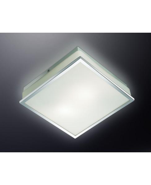 Н/п светильник IP44 ODL13 750 хром/стекло E27 2x40W 220V TELA